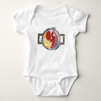 Lobster Beach No Background Babygro Baby Bodysuit
