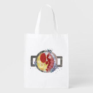 Lobster Beach Reusable Bag