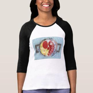 Lobster Beach Three Quarter Length Top T-shirt