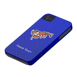 Lobster; Blue Case-Mate iPhone 4 Case