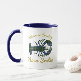 lobster Bluenose Country Nova Scotia coffee mug