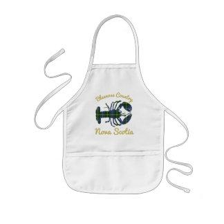 lobster Bluenose Country Nova Scotia kids apron