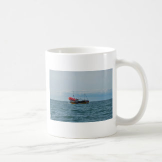 Lobster Boat Amanda Jane Coffee Mug