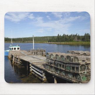 Lobster Boat, Mushaboom, Nova Scotia, Canada Mouse Mat
