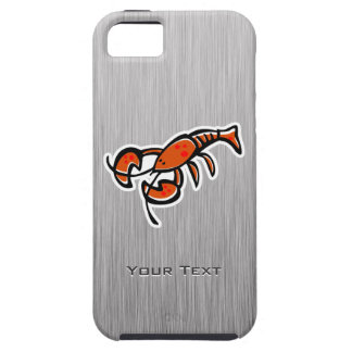Lobster Brushed metal-look iPhone 5 Covers