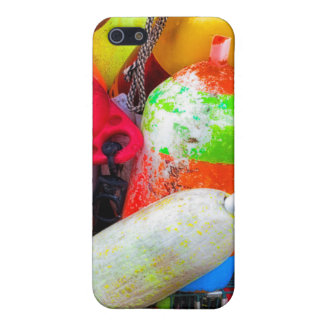 Lobster buoys at Bass Harbor iPhone 5/5S Covers