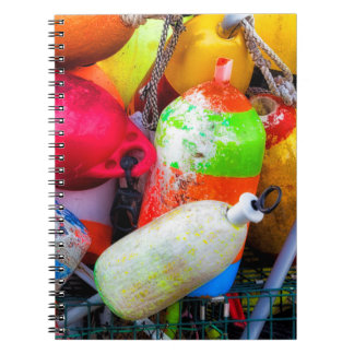 Lobster buoys at Bass Harbor Notebooks