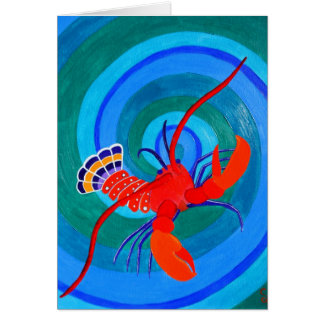Lobster... Greeting Card