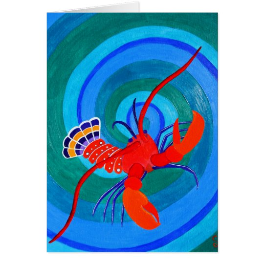 Lobster... Card