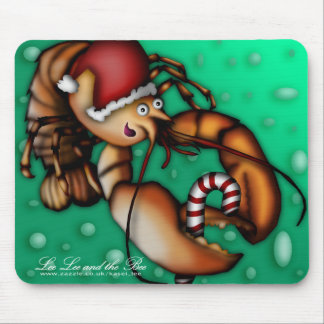 Lobster Claus, mousepad Mouse Pad