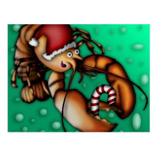 Lobster Claus, postcard
