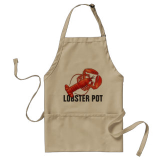 Lobster custom apron