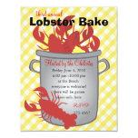Lobster Dinner 4.25x5.5 Paper Invitation Card