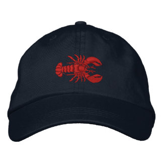 Lobster Embroidered Hat