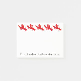 Lobster Fishing Post-it Notes
