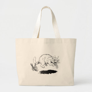 Lobster Has Cat By the Tail Jumbo Tote Bag