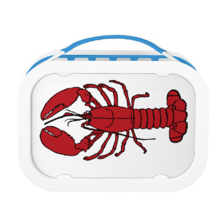 lobster is red lunch box