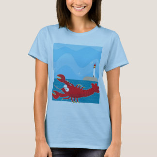 Lobster Light House T-Shirt