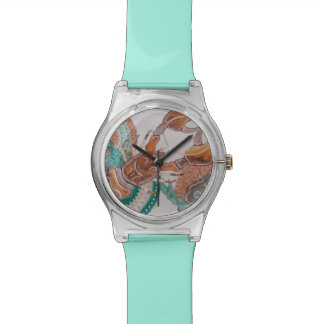 Lobster love wrist watch