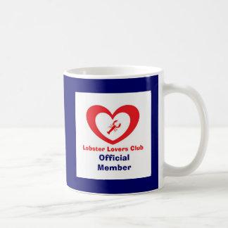 Lobster Lovers Club - Official Member Basic White Mug