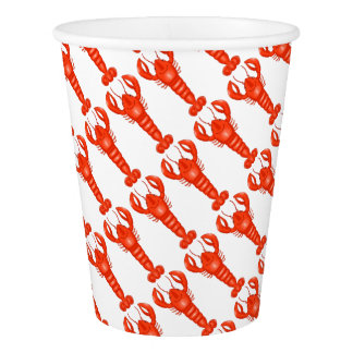 Lobster Paper Cups