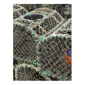 Lobster pots postcard