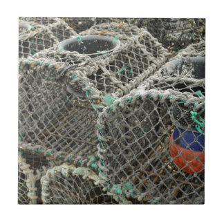 Lobster pots tile