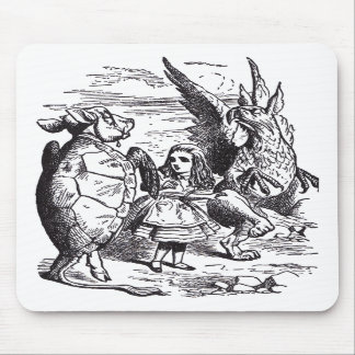 Lobster Quadrille Mouse Pads