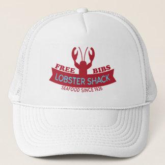 Lobster Shack Fresh Seafood Logo Trucker Hat