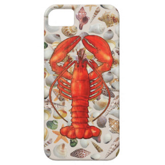 Lobster/Shells iPhone SE/5/5S Barely There Case For The iPhone 5