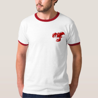Lobster Sign Design Template Mens T-shirt