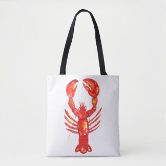 Lobster Tote Bag, Girls Weekend Tote, Fishing Bag