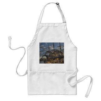 Lobster Traps and Tall Ship Masts Aprons