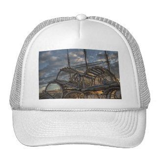 Lobster Traps and Tall Ship Masts Trucker Hat