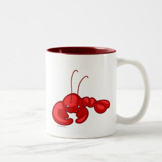 Lobster Two-Tone Coffee Mug