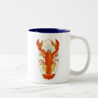 Lobster Two-Tone Coffee Mug