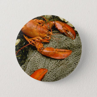 Lobsters 6 Cm Round Badge