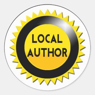 Local Author Starburst Sticker