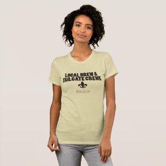 Local Brew & Tailgate Crewe- T-shirt