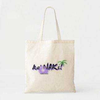 Local Hawaiian Style Tote Bag: Ka' NAKs Budget Tote Bag