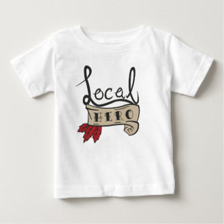 Local Hero Logo baby tee