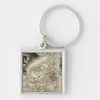 Local heros products, landscapes key ring