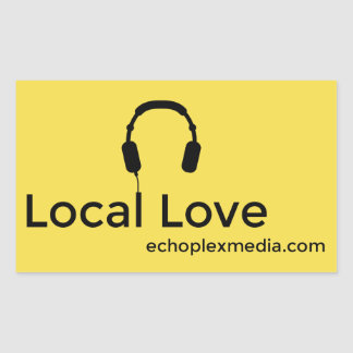 Local Love Stickers! Rectangular Sticker