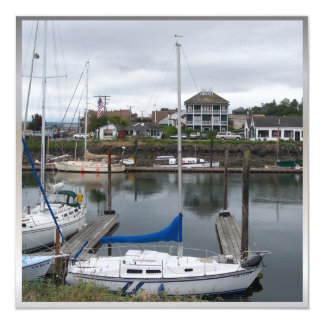 Local Moorage 13 Cm X 13 Cm Square Invitation Card