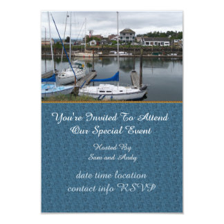 Local Moorage 9 Cm X 13 Cm Invitation Card