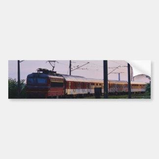 Local Train In Bulgaria Bumper Sticker