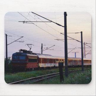 Local Train In Bulgaria Mouse Pad