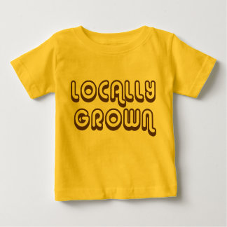 Locally Grown_brown Baby T-Shirt