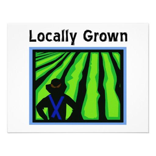 Locally Grown Invitation