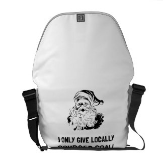 Locally Sourced Coal Commuter Bag